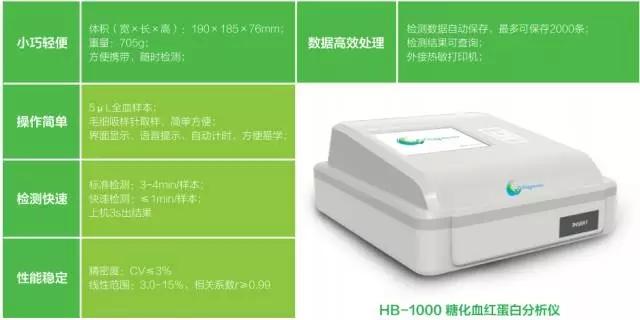HB-1000糖化血红蛋白分析仪