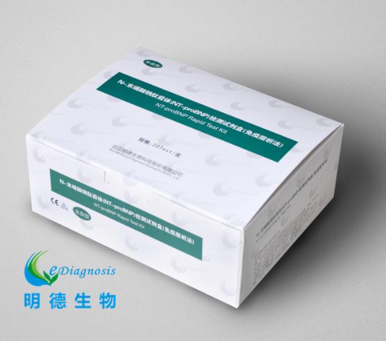 N -末端脑钠肽前体(NT-proBNP)检测试剂盒(免疫层析法)